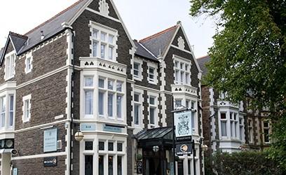 The Beverley Hotel, Cardiff and Innkeeper's Lodge