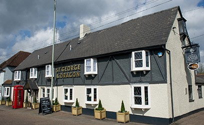 The Saint George And Dragon Vintage Inn, Clyst St George, Exeter and Innkeeper's Lodge