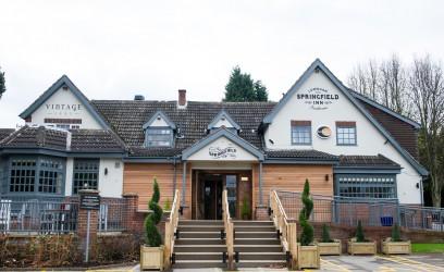 The Springfield Inn, Vintage Inn, Lowdham and Innkeeper's Lodge Nottingham